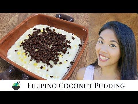 Maja Blanca Recipe | Haupia With Corn | How To Make Maja Mais