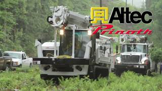 PRINOTH ALTEC electric utility video