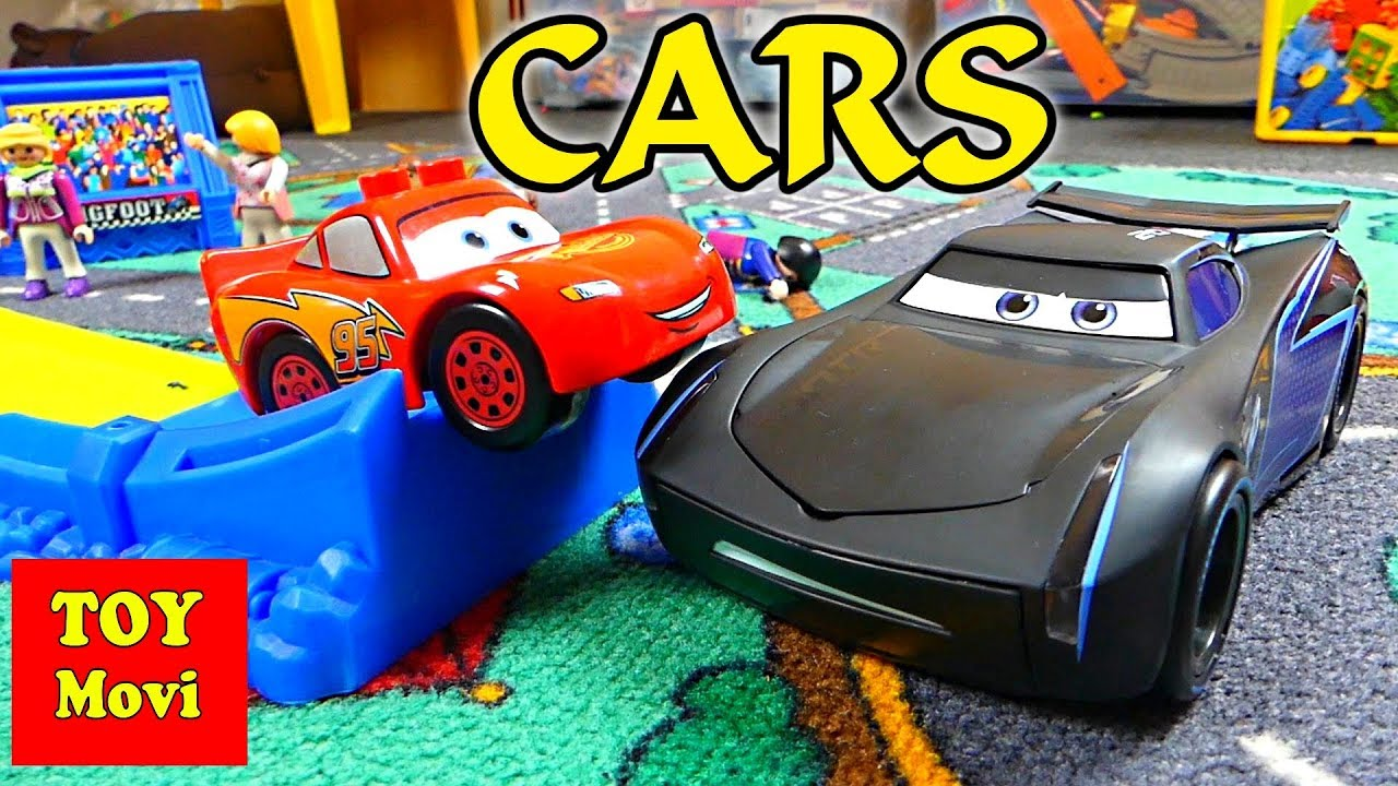 cars 3 toys kinder film auto lightning mcqueen storm spielzeug cars deutsch youtube. Black Bedroom Furniture Sets. Home Design Ideas