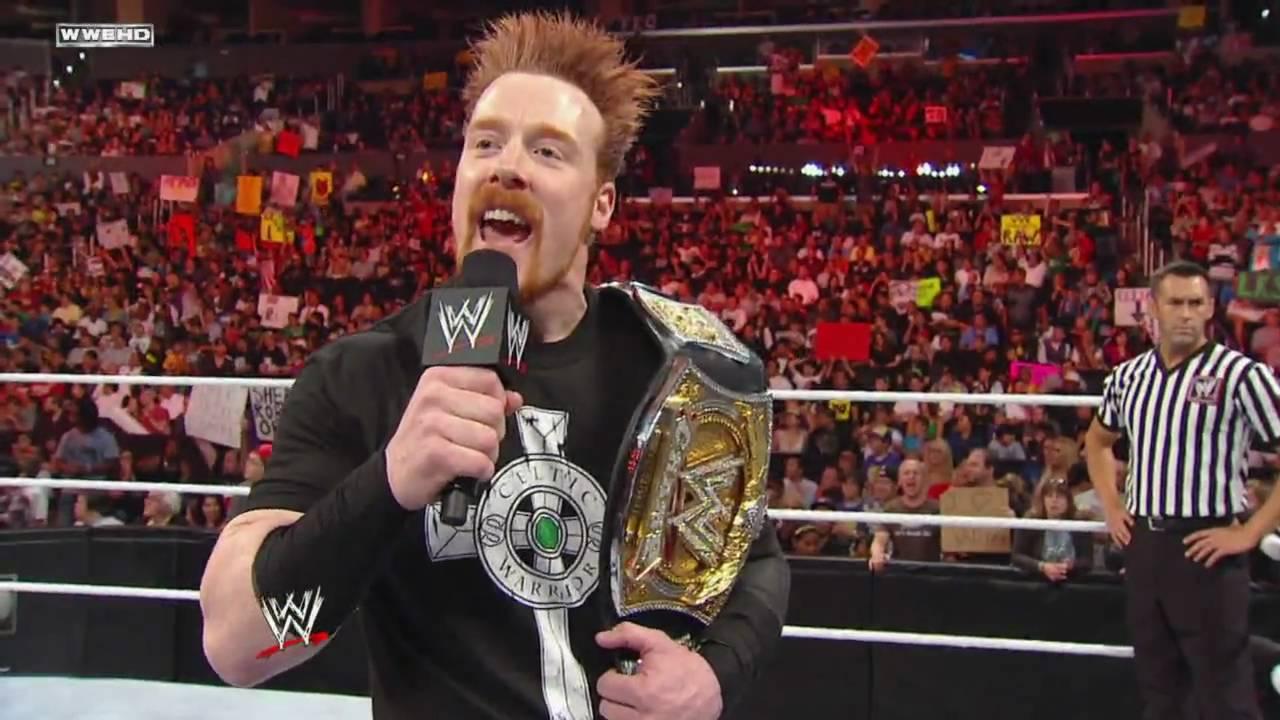 Raw: Sheamus vs. Zack Ryder - WWE Championship Match - YouTube