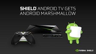 NVIDIA Shield TV يحصل على تحديث الأندرويد 6.0 Marshamllow