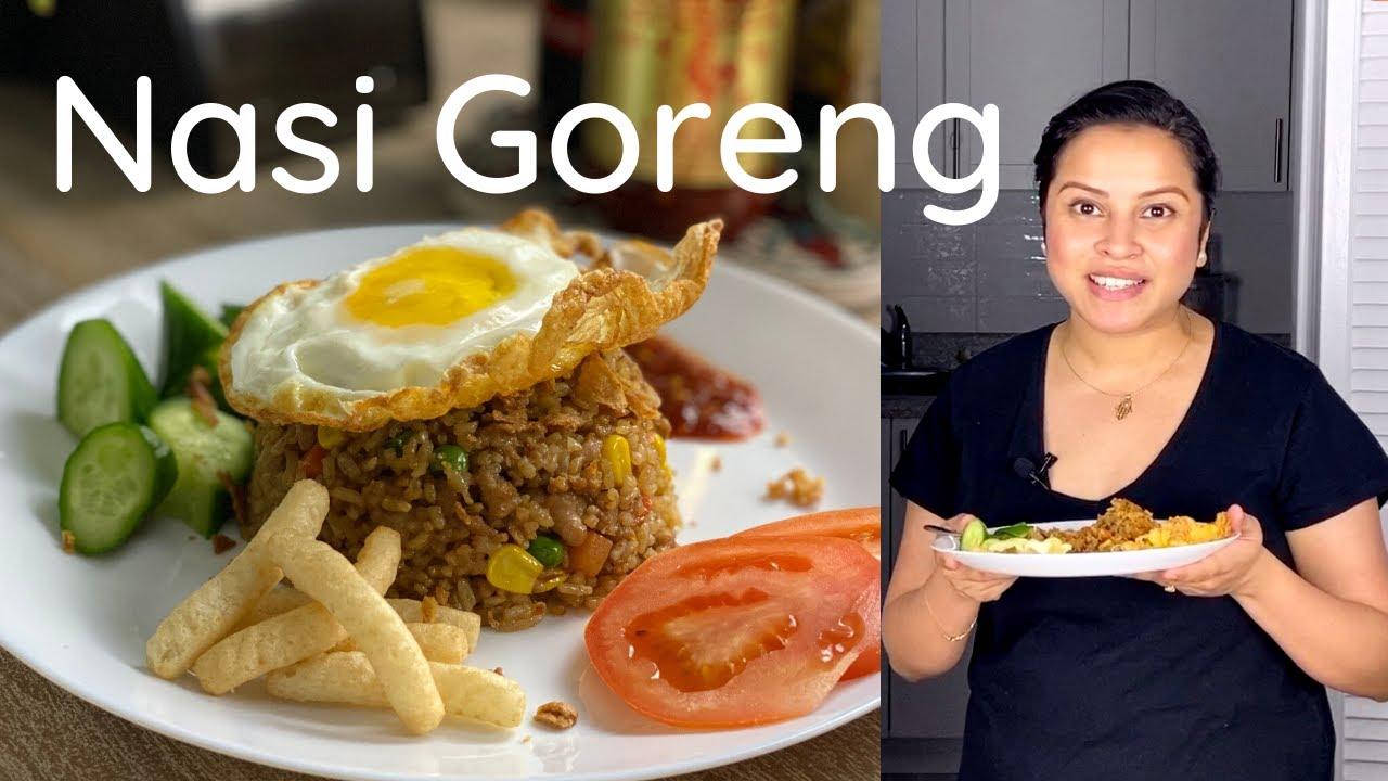 Nasi Goreng Best Indonesian Fried Rice Youtube