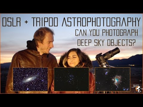 Can you photograph Deep Sky Objects with only a DSLR and Tripod without tracking?
