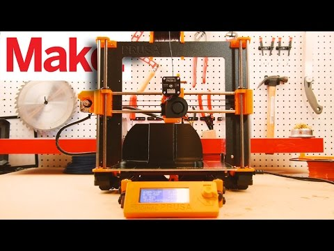 Make:'s Best 3D Printer for 2017: Prusa i3 Mk 2