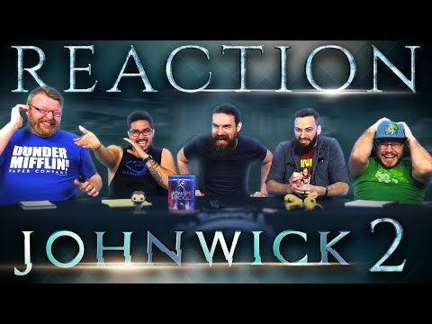 John Wick: Chapter 2 (2017) MOVIE REACTION!!