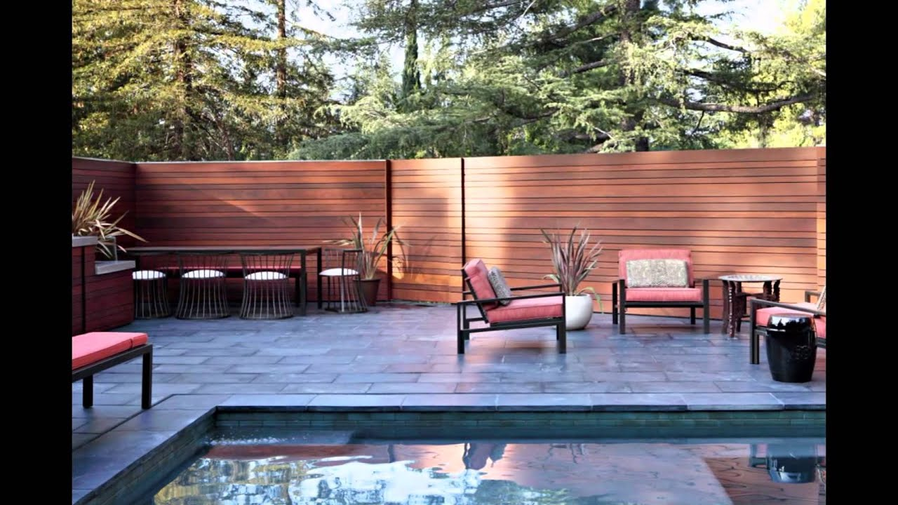 Modern Backyard - YouTube
