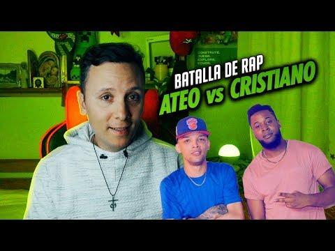 CRISTIANO vs ATEO rap   Sacerdote reacciona (Phillipe Vs Zodiaco)