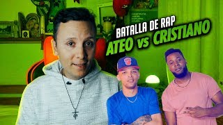 CRISTIANO vs ATEO rap | Sacerdote reacciona (Phillipe Vs Zodiaco)