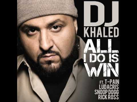 DJ Khaled All I Do Is Win feat Ludacris, Rick Ross, Snoop Dogg & TPain