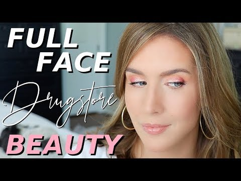 GRWM Using Drugstore Makeup | Full Face of NEW & OLD FAVES! thumbnail