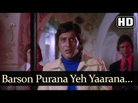 Barson Purana Ye - Hera Pheri - Amitabh Bachchan - Vinod Khanna - Bollywood Songs - Kishore Kumar