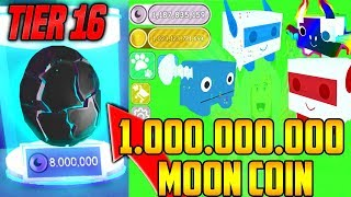 ROBLOX PET SiMULATOR 🐞 1 MİLYAR MOON COİN HARCADIK 😱 TİER 16 DAN NE ÇIKIYOR ? 🐞 ViP SERVER #3