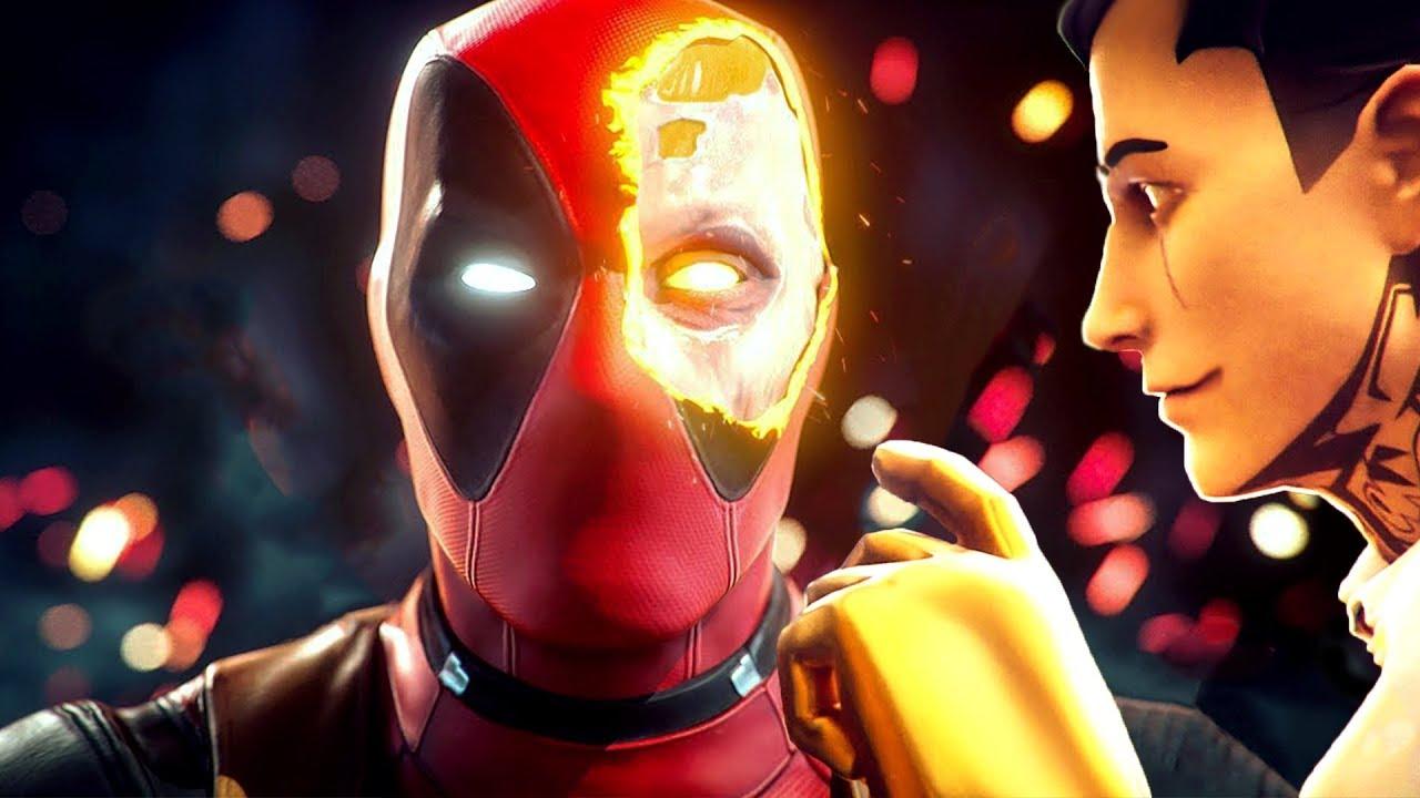 A Origem do Deadpool pro Evento Ao Vivo.. (Fortnite Teorias)