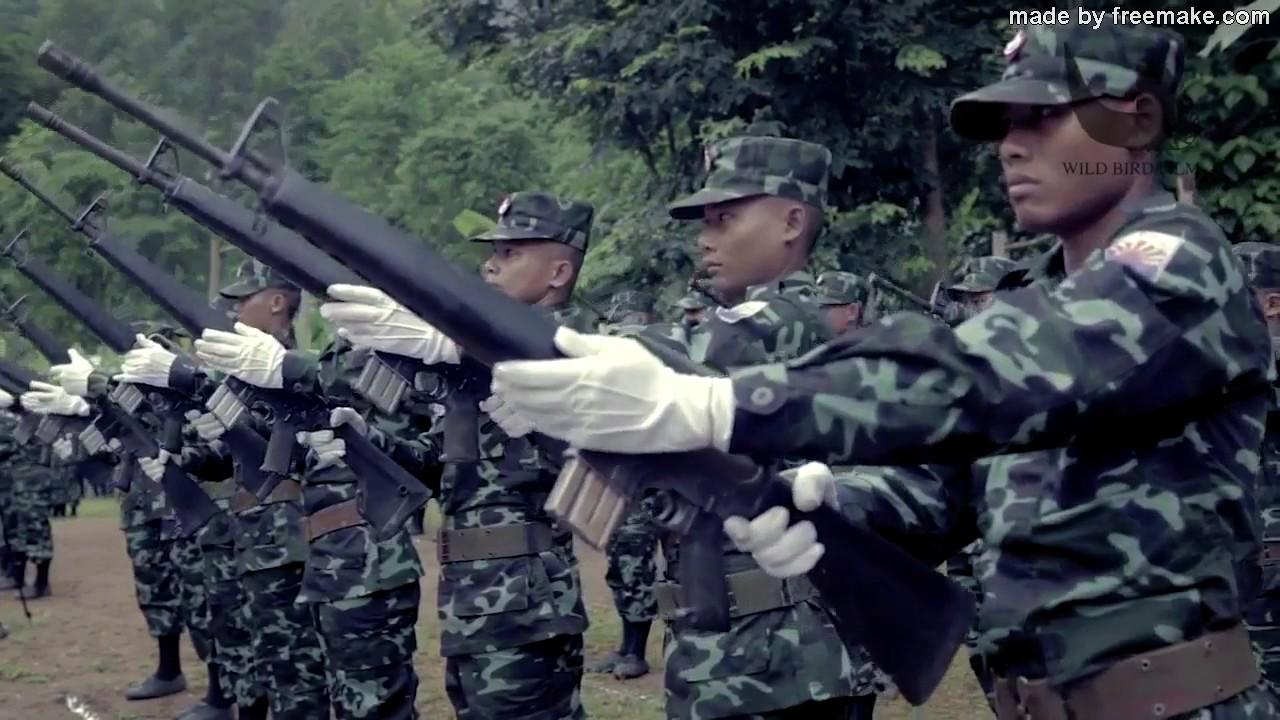 Karen National Liberation Army (KNLA)'s Power Strength 2017 Part #3 -  YouTube