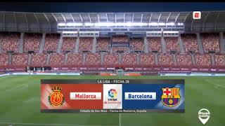 Rcd mallorca vs barcelona 0-4 ...