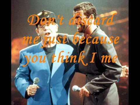 Don't Let The Sun Go Down On Me. Sir Elton John & George Michael With Lyrics