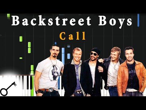 Backstreet Boys - Call [Piano Tutorial] Synthesia   passkeypiano