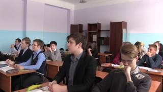Видео с урока литературы в 9 класс