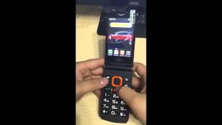 Linlo x8 телефон powerbank сенсорная раскладушка на 2 экрана(, 2016-03-13T18:38:21.000Z)