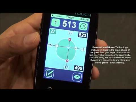 SkyCaddie Touch GPS Demonstration