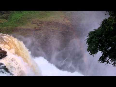 Zongo Falls in the Democratic Republic of Congo