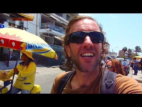 Tour of Chan Chan Ruins, Peru (near Trujillo) & Huanchaco Beach Town