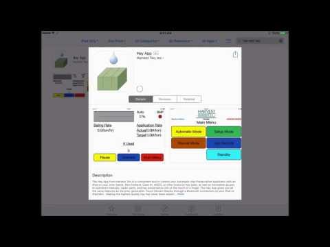 Install Harvest Tec Hay App on iPad for 400T Applicators