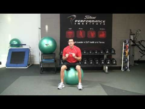Golf Fitness Core Strength Exercise