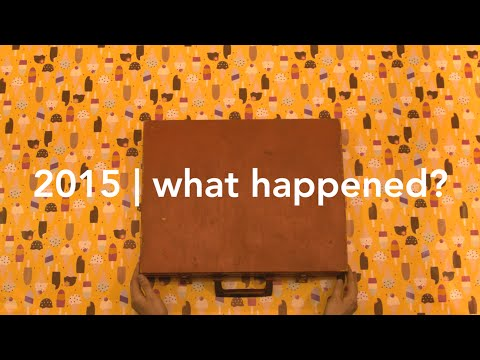 thinking out loud | 2015 | what happened