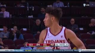 USC Men's Basketball: USC 82, SCU 59 - Highlights (12/14/17)