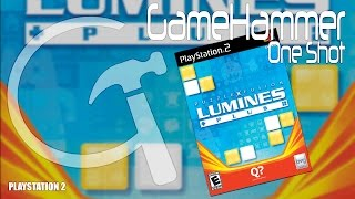 Lumines Plus - PlayStation 2 - GameHammer One Shot #7