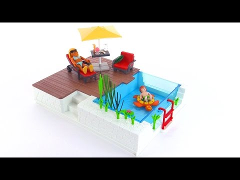 Playmobil City Life Swimming Pool With Terrace Review Set