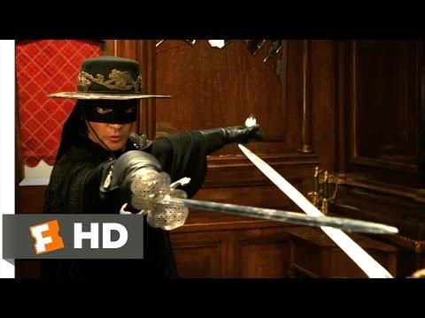 The Legend of Zorro (2005) - Train Fight Scene (8/10) | Movieclips