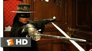 The Legend of Zorro (2005) - Train Fight Scene (8/10)   Movieclips