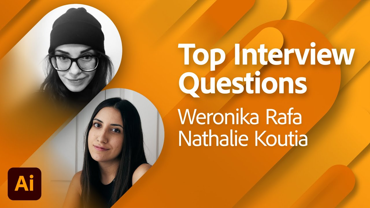 Top Interview Questions for Graphic Designers with Weronika Rafa | Adobe Live