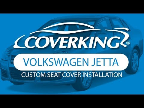 How to Install 2006-2009 Volkswagen Jetta Custom Seat Covers | COVERKING®