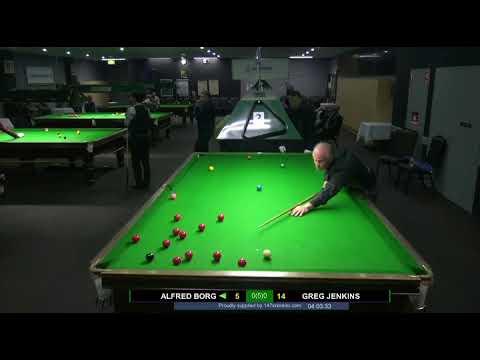 Alfred Borg vs Greg Jenkins 2018 NSW Masters