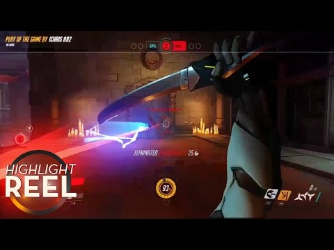 Highlight Reel # 215 - Overwatch Player Has An Excellent Backhand