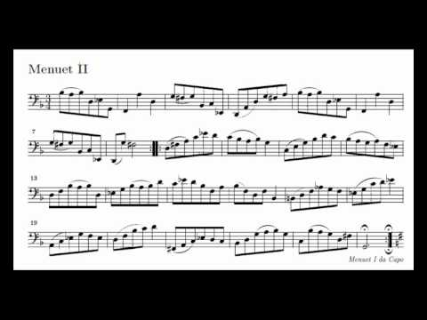 J. S. Bach Cello Suite n. 1 BWV 1007 - 5. Menuet I / II - Piano Transcription [tbpt49]