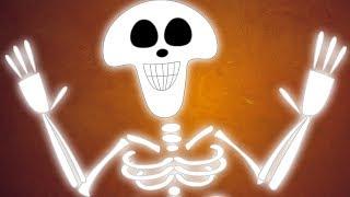 Bones In Your Body | Scary Nursery Rhymes | Kids Songs | Children Rhyme
