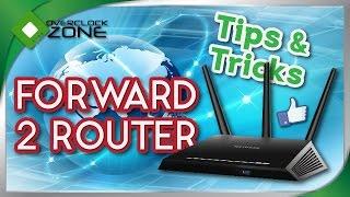 ว ธ การ forward port router สองต ว แก ป ญหา router แถมไม แรงพอ