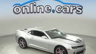 A10126GT Used 2014 Chevrolet Camaro Silver Test Drive, Review, For Sale