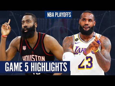 ROCKETS vs LAKERS GAME 5 | Full Highlights - 2020 NBA Playoffs