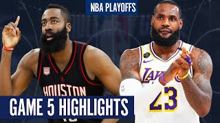 ROCKETS vs LAKERS GAME 5 | Full Highlights - 2020 NBA Playoffs