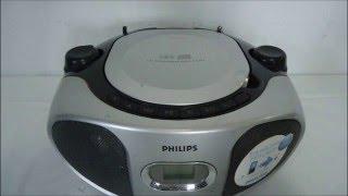 como consertar RADIO PHILIPS AZ302 S sem som alto falantes