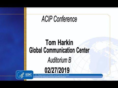 February 2019 ACIP Meeting - Welcome & Japanese Encephalitis