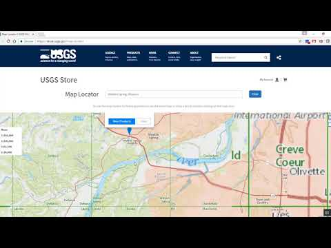 Lesson 9a: Accessing US Topo And Historical USGS Topographic Maps