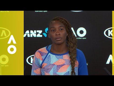 Venus Williams press conference (1R) | Australian Open 2018