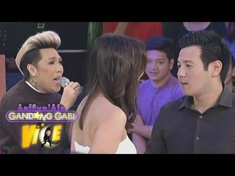 Vice Ganda sings for John-Isabel karaoke video