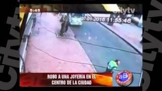 Robo en joyería del centro   CityTv   Arriba Bogotá   Enero 8